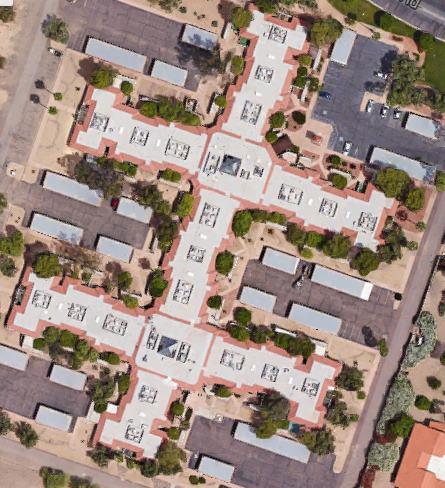 tile & flat roof in Sun City