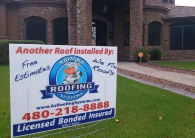 Roofing contractors Mesa Arizona